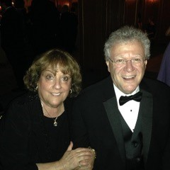 Photo of monthly donors Carol Forgash and Hank Glaser.